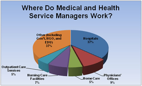 whereHealthcareServiceManagersWork