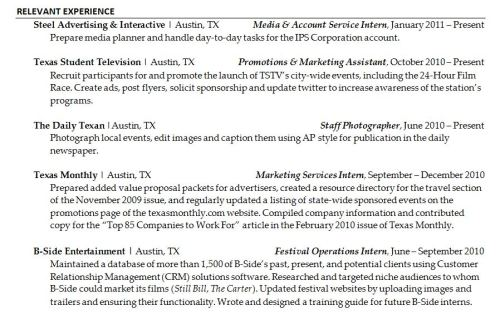 paragraph-sample Resume Bullet Format on production supervisor, director operations, words for, time management, how word, for waitress,